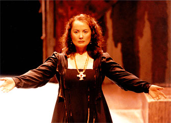 Dmae as Lady MacBeth